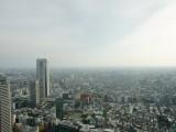 東京都庁展望室から