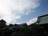 九品寺から見た空
