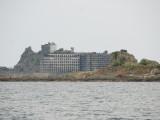 軍艦島と中ノ島