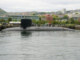 海上自衛隊練習潜水艦